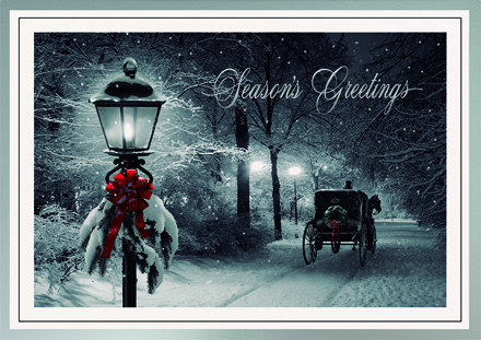 Lamplight Glow Holiday Cards